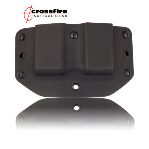 Crossfire Tactical Gear-Mag Carriers Standard Black
