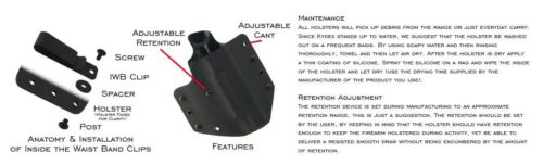 Crossfire Tactical Gear-kydex Holster Maintenance