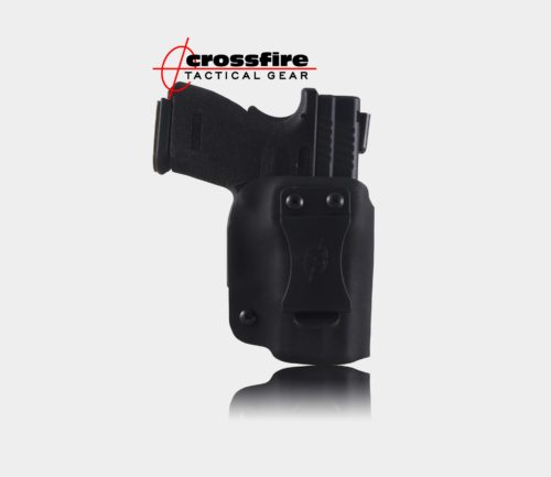 Crossfire Tactical Gear-IWB Fold-Over Standard Black