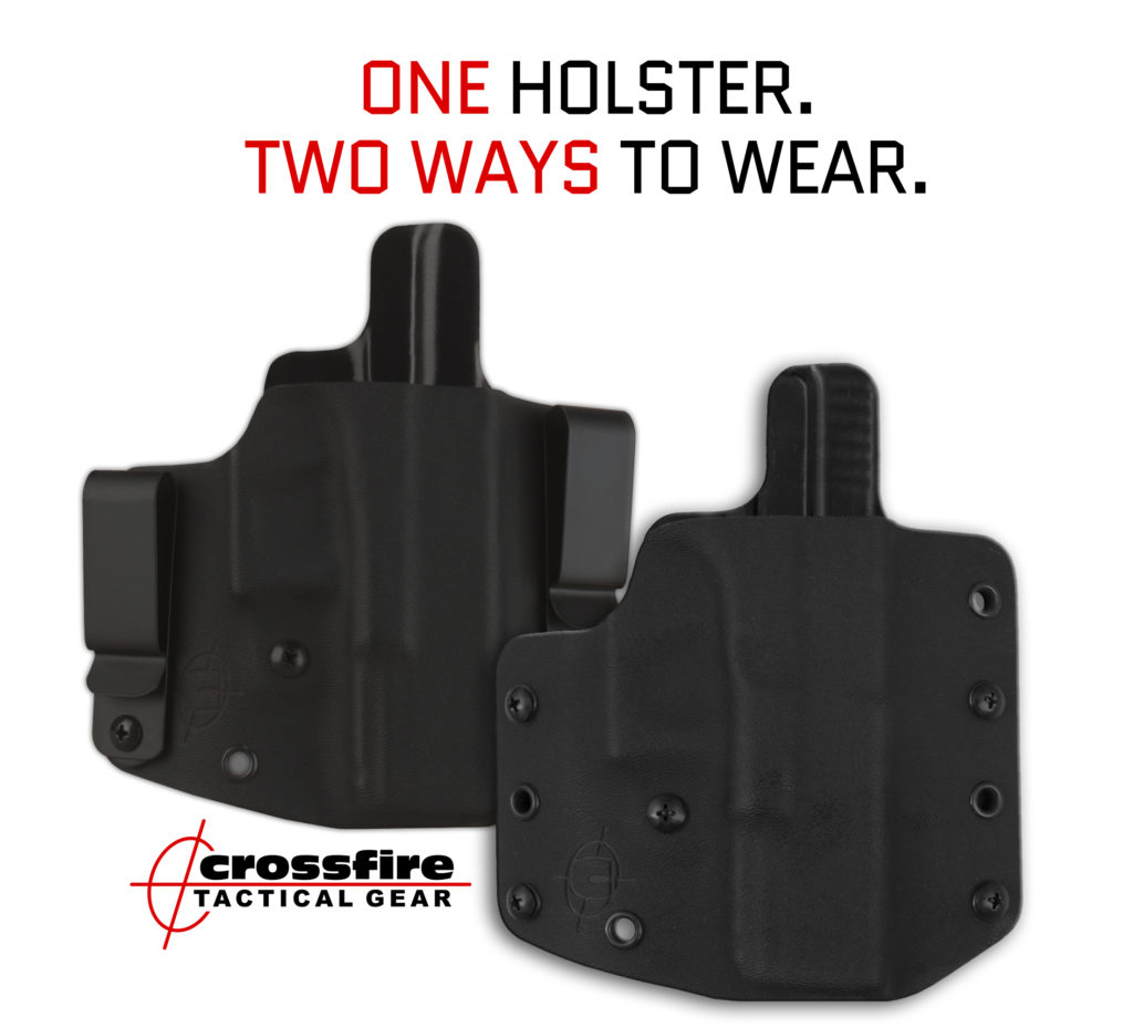 One Holster. Two Ways to Wear.
